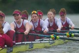 The Boat Race season 2016 - Women's Boat Race Fixture CUWBC vs OBUBC. River Thames between Putney Bridge and Mortlake, London SW15,  United Kingdom, on 31 January 2016 at 16:28, image #161