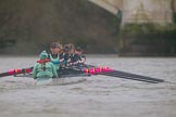 The Boat Race season 2016 - Women's Boat Race Fixture CUWBC vs OBUBC. River Thames between Putney Bridge and Mortlake, London SW15,  United Kingdom, on 31 January 2016 at 16:28, image #162