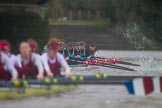 The Boat Race season 2016 - Women's Boat Race Fixture CUWBC vs OBUBC. River Thames between Putney Bridge and Mortlake, London SW15,  United Kingdom, on 31 January 2016 at 16:29, image #164