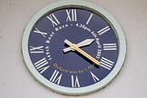 The Boat Race season 2016 - OUWBC training Wallingford: The big clock outside of Oxford's Fleming Boat House in Wallingfard. River Thames, Wallingford, Oxfordshire,  on 29 February 2016 at 14:26, image #7
