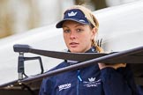 The Boat Race season 2016 - OUWBC training Wallingford: Emma Spruce, 2 seat in the OUWBC Blue Boat. River Thames, Wallingford, Oxfordshire,  on 29 February 2016 at 15:31, image #49