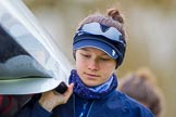The Boat Race season 2016 - OUWBC training Wallingford: Emma Lukasiewicz, bow in the OUWBC Blue Boat. River Thames, Wallingford, Oxfordshire,  on 29 February 2016 at 15:31, image #50