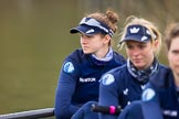 The Boat Race season 2016 - OUWBC training Wallingford: emma Lukasiewicz, bow in the OUWBC Blue Boat. River Thames, Wallingford, Oxfordshire,  on 29 February 2016 at 15:47, image #57