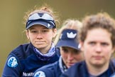 The Boat Race season 2016 - OUWBC training Wallingford: emma Lukasiewicz, bow in the OUWBC Blue Boat. River Thames, Wallingford, Oxfordshire,  on 29 February 2016 at 15:48, image #58