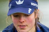 The Boat Race season 2016 - OUWBC training Wallingford: Lauren Kedar, stroke in the OUWBC Blue Boat. River Thames, Wallingford, Oxfordshire,  on 29 February 2016 at 15:51, image #67