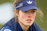 The Boat Race season 2016 - OUWBC training Wallingford: Lauren Kedar, stroke in the OUWBC Blue Boat. River Thames, Wallingford, Oxfordshire,  on 29 February 2016 at 15:52, image #70