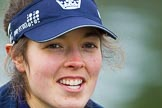 The Boat Race season 2016 - OUWBC training Wallingford: Lauren Kedar, stroke in the OUWBC Blue Boat. River Thames, Wallingford, Oxfordshire,  on 29 February 2016 at 15:56, image #72