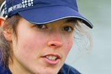 The Boat Race season 2016 - OUWBC training Wallingford: Lauren Kedar, stroke in the OUWBC Blue Boat. River Thames, Wallingford, Oxfordshire,  on 29 February 2016 at 15:56, image #73