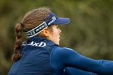 The Boat Race season 2016 - OUWBC training Wallingford: Lauren Kedar, stroke in the OUWBC Blue Boat. River Thames, Wallingford, Oxfordshire,  on 29 February 2016 at 16:02, image #79