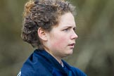 The Boat Race season 2016 - OUWBC training Wallingford: Dutch rower Joanne Jansen, 3 seat in the OUWBC Blue Boat. River Thames, Wallingford, Oxfordshire,  on 29 February 2016 at 16:02, image #81