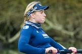 The Boat Race season 2016 - OUWBC training Wallingford: Emma Spruce, 2 seat in the OUWBC Blue Boat. River Thames, Wallingford, Oxfordshire,  on 29 February 2016 at 16:07, image #83