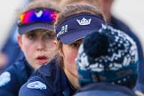 The Boat Race season 2016 - OUWBC training Wallingford: Lauren Kedar, stroke in the OUWBC Blue Boat. River Thames, Wallingford, Oxfordshire,  on 29 February 2016 at 16:14, image #91