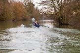 The Boat Race season 2016 - OUWBC training Wallingford. River Thames, Wallingford, Oxfordshire,  on 29 February 2016 at 16:20, image #101