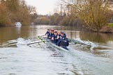 The Boat Race season 2016 - OUWBC training Wallingford. River Thames, Wallingford, Oxfordshire,  on 29 February 2016 at 16:20, image #102