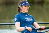 The Boat Race season 2016 - OUWBC training Wallingford: Lauren Kedar, stroke in the OUWBC Blue Boat. River Thames, Wallingford, Oxfordshire,  on 29 February 2016 at 16:31, image #113