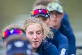 The Boat Race season 2016 - OUWBC training Wallingford: Anastasia Chitty, 6 seat in the OUWBC Blue Boat. River Thames, Wallingford, Oxfordshire,  on 29 February 2016 at 16:32, image #125