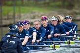 The Boat Race season 2016 - OUWBC training Wallingford. River Thames, Wallingford, Oxfordshire,  on 29 February 2016 at 16:34, image #147