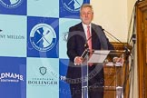 The Boat Race season 2016 - Crew Announcement and Weigh-In: Robert Gillespie, President of The Boat Race Company. Westmister Hall, Westminster, London SW11,  United Kingdom, on 01 March 2016 at 10:03, image #10
