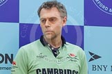 The Boat Race season 2016 - Crew Announcement and Weigh-In: The Boat Race head coaches, here for Cambridge Steve Trapmore. Westmister Hall, Westminster, London SW11,  United Kingdom, on 01 March 2016 at 10:26, image #81