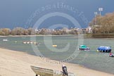 The Boat Race season 2016 -  The Cancer Research Women's Boat Race. River Thames between Putney Bridge and Mortlake, London SW15,  United Kingdom, on 27 March 2016 at 10:35, image #4