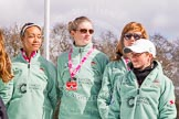 The Boat Race season 2016 -  The Cancer Research Women's Boat Race. River Thames between Putney Bridge and Mortlake, London SW15,  United Kingdom, on 27 March 2016 at 12:19, image #40