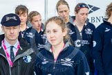 The Boat Race season 2016 -  The Cancer Research Women's Boat Race. River Thames between Putney Bridge and Mortlake, London SW15,  United Kingdom, on 27 March 2016 at 12:20, image #46