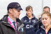 The Boat Race season 2016 -  The Cancer Research Women's Boat Race. River Thames between Putney Bridge and Mortlake, London SW15,  United Kingdom, on 27 March 2016 at 12:21, image #51
