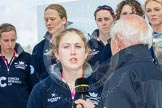 The Boat Race season 2016 -  The Cancer Research Women's Boat Race. River Thames between Putney Bridge and Mortlake, London SW15,  United Kingdom, on 27 March 2016 at 12:21, image #55