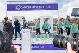 The Boat Race season 2016 -  The Cancer Research Women's Boat Race. River Thames between Putney Bridge and Mortlake, London SW15,  United Kingdom, on 27 March 2016 at 12:22, image #62
