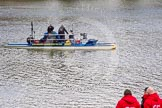 The Boat Race season 2016 -  The Cancer Research Women's Boat Race. River Thames between Putney Bridge and Mortlake, London SW15,  United Kingdom, on 27 March 2016 at 12:45, image #75