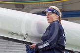 The Boat Race season 2016 -  The Cancer Research Women's Boat Race. River Thames between Putney Bridge and Mortlake, London SW15,  United Kingdom, on 27 March 2016 at 13:22, image #78