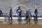 The Boat Race season 2016 -  The Cancer Research Women's Boat Race. River Thames between Putney Bridge and Mortlake, London SW15,  United Kingdom, on 27 March 2016 at 13:24, image #89
