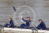 The Boat Race season 2016 -  The Cancer Research Women's Boat Race. River Thames between Putney Bridge and Mortlake, London SW15,  United Kingdom, on 27 March 2016 at 13:24, image #90