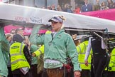 The Boat Race season 2016 -  The Cancer Research Women's Boat Race. River Thames between Putney Bridge and Mortlake, London SW15,  United Kingdom, on 27 March 2016 at 13:25, image #94