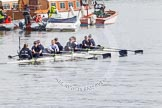 The Boat Race season 2016 -  The Cancer Research Women's Boat Race. River Thames between Putney Bridge and Mortlake, London SW15,  United Kingdom, on 27 March 2016 at 13:26, image #101