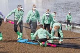 The Boat Race season 2016 -  The Cancer Research Women's Boat Race. River Thames between Putney Bridge and Mortlake, London SW15,  United Kingdom, on 27 March 2016 at 13:26, image #103