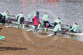 The Boat Race season 2016 -  The Cancer Research Women's Boat Race. River Thames between Putney Bridge and Mortlake, London SW15,  United Kingdom, on 27 March 2016 at 13:27, image #104