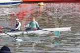 The Boat Race season 2016 -  The Cancer Research Women's Boat Race. River Thames between Putney Bridge and Mortlake, London SW15,  United Kingdom, on 27 March 2016 at 13:29, image #107