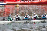 The Boat Race season 2016 -  The Cancer Research Women's Boat Race. River Thames between Putney Bridge and Mortlake, London SW15,  United Kingdom, on 27 March 2016 at 13:29, image #108