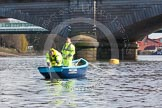 The Boat Race season 2016 -  The Cancer Research Women's Boat Race. River Thames between Putney Bridge and Mortlake, London SW15,  United Kingdom, on 27 March 2016 at 13:41, image #110