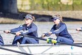 The Boat Race season 2016 -  The Cancer Research Women's Boat Race. River Thames between Putney Bridge and Mortlake, London SW15,  United Kingdom, on 27 March 2016 at 13:45, image #116