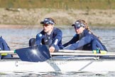 The Boat Race season 2016 -  The Cancer Research Women's Boat Race. River Thames between Putney Bridge and Mortlake, London SW15,  United Kingdom, on 27 March 2016 at 13:45, image #118