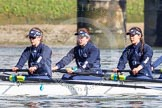 The Boat Race season 2016 -  The Cancer Research Women's Boat Race. River Thames between Putney Bridge and Mortlake, London SW15,  United Kingdom, on 27 March 2016 at 13:45, image #119