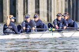 The Boat Race season 2016 -  The Cancer Research Women's Boat Race. River Thames between Putney Bridge and Mortlake, London SW15,  United Kingdom, on 27 March 2016 at 13:45, image #122