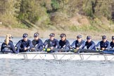 The Boat Race season 2016 -  The Cancer Research Women's Boat Race. River Thames between Putney Bridge and Mortlake, London SW15,  United Kingdom, on 27 March 2016 at 13:45, image #125
