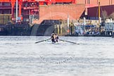The Boat Race season 2016 -  The Cancer Research Women's Boat Race. River Thames between Putney Bridge and Mortlake, London SW15,  United Kingdom, on 27 March 2016 at 13:46, image #127