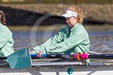The Boat Race season 2016 -  The Cancer Research Women's Boat Race. River Thames between Putney Bridge and Mortlake, London SW15,  United Kingdom, on 27 March 2016 at 13:50, image #133