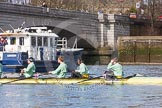 The Boat Race season 2016 -  The Cancer Research Women's Boat Race. River Thames between Putney Bridge and Mortlake, London SW15,  United Kingdom, on 27 March 2016 at 14:01, image #139