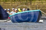 The Boat Race season 2016 -  The Cancer Research Women's Boat Race. River Thames between Putney Bridge and Mortlake, London SW15,  United Kingdom, on 27 March 2016 at 14:04, image #140