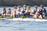 The Boat Race season 2016 -  The Cancer Research Women's Boat Race. River Thames between Putney Bridge and Mortlake, London SW15,  United Kingdom, on 27 March 2016 at 14:04, image #142